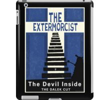 The Devil Inside. The Dalek Cut. iPad Case/Skin