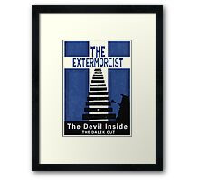 The Devil Inside. The Dalek Cut. Framed Print