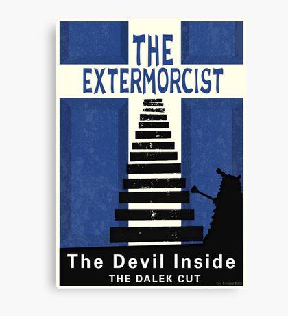 The Devil Inside. The Dalek Cut. Canvas Print