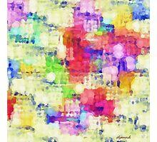 Squares Photographic Print