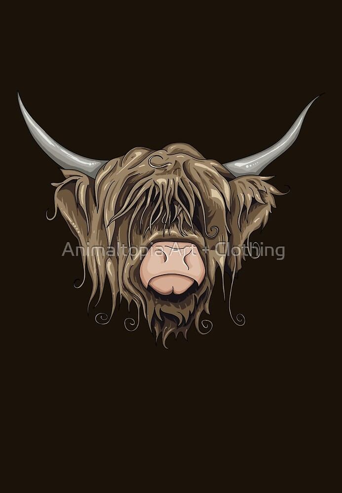 Highland Cow by Compassion Collective