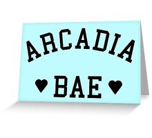 arcadia bae Greeting Card