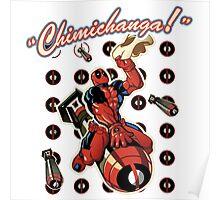 Fly Deadpool Poster