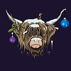 Highland Cow X by Compassion Collective