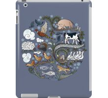 Born to Roam at Christmas iPad Case/Skin
