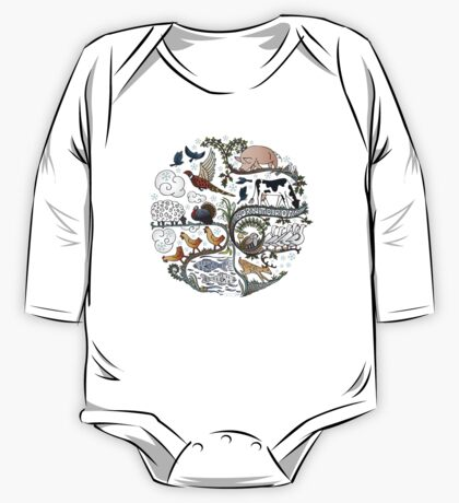 Born to Roam at Christmas One Piece - Long Sleeve