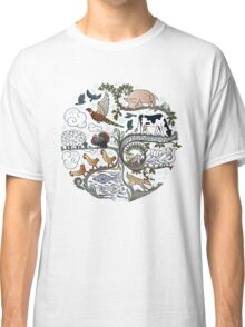 Born to Roam at Christmas Classic T-Shirt