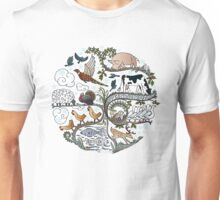 Born to Roam at Christmas Unisex T-Shirt