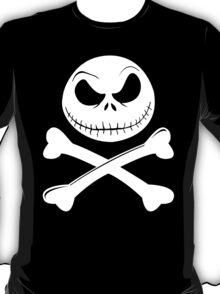 Jack Skellington Crossbones (White) T-Shirt