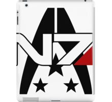 N7 Alliance Special Forces iPad Case/Skin