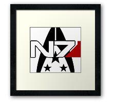 N7 Alliance Special Forces Framed Print