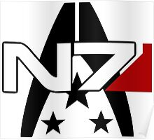 N7 Alliance Special Forces Poster