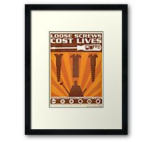 Time War Propaganda II Framed Print