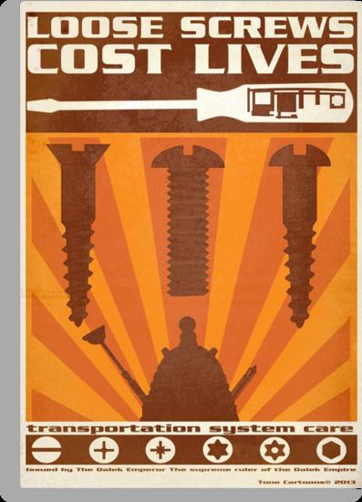 Time War Propaganda II by ToneCartoons