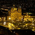 Cusco at Night - Peru by Lisa Germany