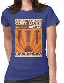 Time War Propaganda II Womens Fitted T-Shirt