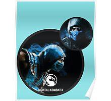 Sub-Zero Mortal Kombat X Poster