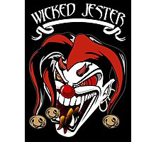 Wicked Jester Evil New Photographic Print