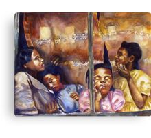 Rebecca and Her Daughters Canvas Print