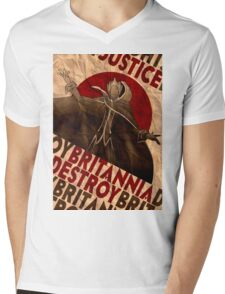 Justice will be done -  Code Geass Mens V-Neck T-Shirt