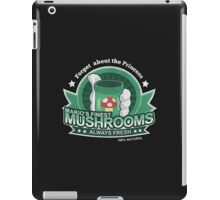 Mario's Finest Mushrooms iPad Case/Skin