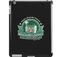 Mario's Finest Mushrooms iPad Case/Skin