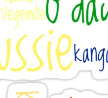 """Aussie """"Culture?"""" Sticker"""