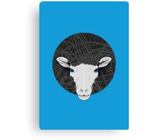Funky Sheep Canvas Print