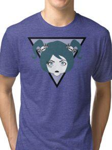 eyelashed lady Tri-blend T-Shirt