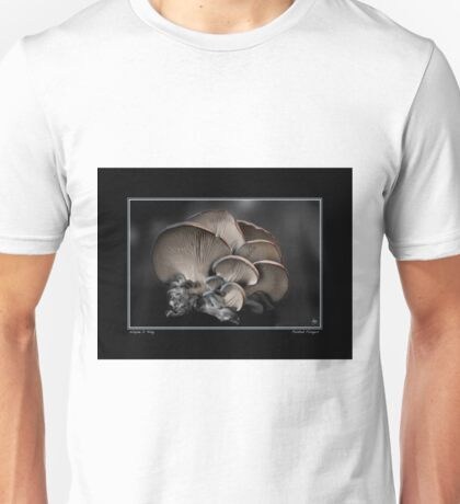 Painted Fungus Poster Unisex T-Shirt