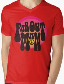 Far out man - Retro shirt Mens V-Neck T-Shirt