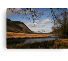 Lake in Glenveagh National Park #1 Canvas Print