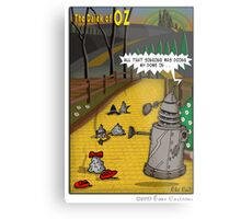 The Dalek Of OZ Metal Print