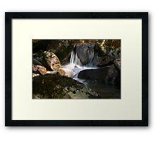 Waterfall Glenveagh National Park Framed Print