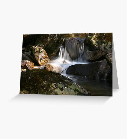 Waterfall Glenveagh National Park Greeting Card