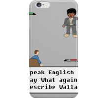 Pulp Fiction - Say What again? iPhone Case/Skin