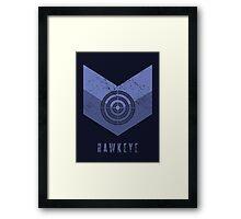 Hawkeye Avengers Framed Print