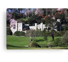 Caerhays castle, cornwall, England  Canvas Print
