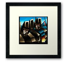 transformers seekers 2 Framed Print