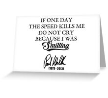 If One Day.. Greeting Card