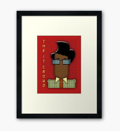 it crowd tee Framed Print
