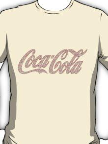 Coca Cola (pink floral) T-Shirt