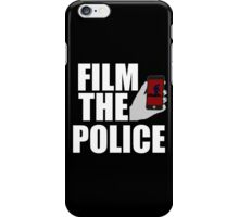 FILM THE POLICE (I CAN'T BREATHE)  iPhone Case/Skin