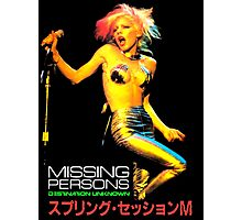 MISSING PERSONS T-Shirt Photographic Print