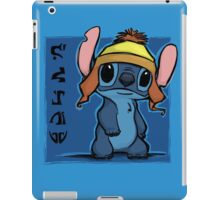 Cunning and Blue! iPad Case/Skin