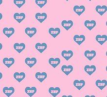 ZEF Blue/Pink Design by Virginia Burton