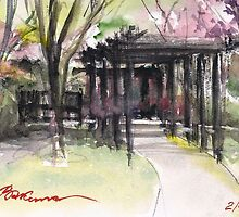 Maxell's Cherry Gardens. Telford, Shropshire, England by bakuma