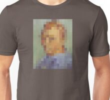 pixel van gogh Unisex T-Shirt