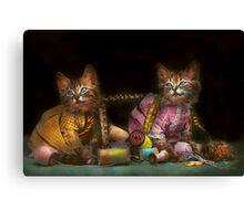 Cat - Mischief makers 1915 Canvas Print