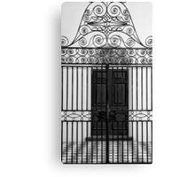 The Gate (B&W) Canvas Print